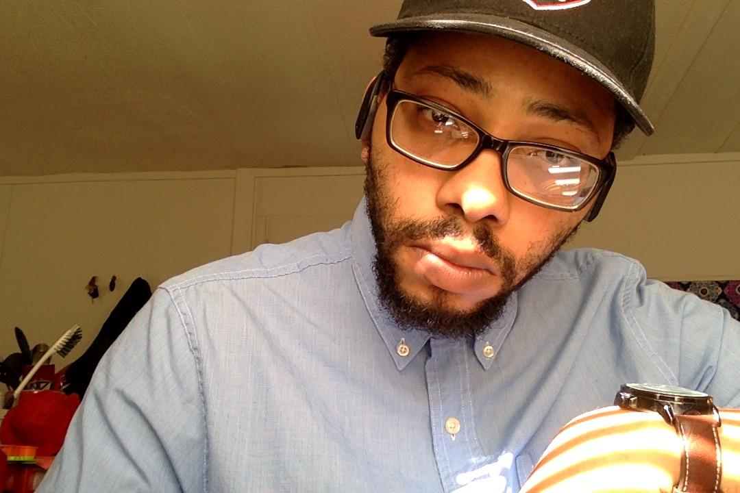 Malachai Frazier Beard and Hat Selfie